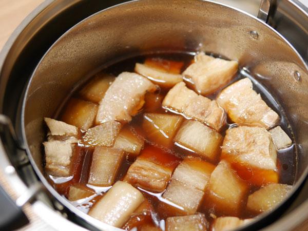 シャトルシェフで豚バラ大根煮