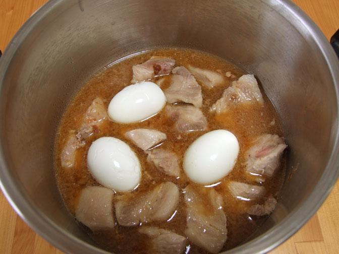 豚の味噌煮
