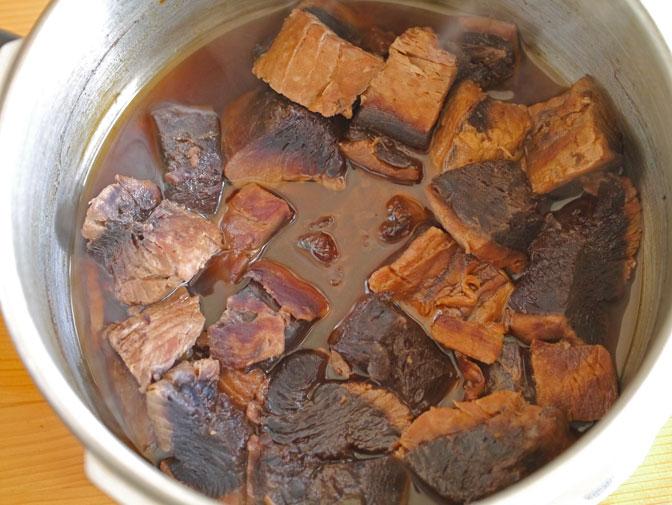 マグロのアラ煮煮込み後